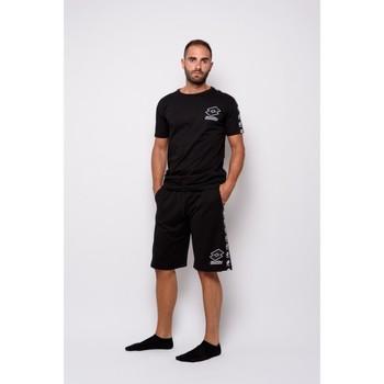 Textiel Heren T-shirts korte mouwen Lotto Half Sleeve Jersey (ltu016-zwart) T-shirt Zwart
