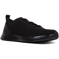 Schoenen Heren Lage sneakers FitFlop Flexknit Men All Black