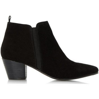 Schoenen Dames Low boots Dune London Perdy Black Leather Mix