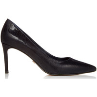 Schoenen Dames pumps Dune London Abbigail Navy Reptile