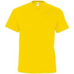 Textiel Heren T-shirts korte mouwen Sols Victory Goud