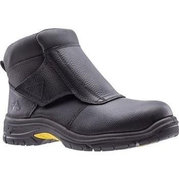 Schoenen Heren Laarzen Amblers  Zwart