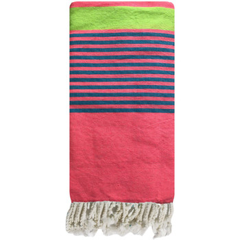 Textiel Dames Pareo Traditions Med fouta Rose Blauw