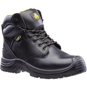 Schoenen Heren veiligheidsschoenen Amblers Safety  Zwart
