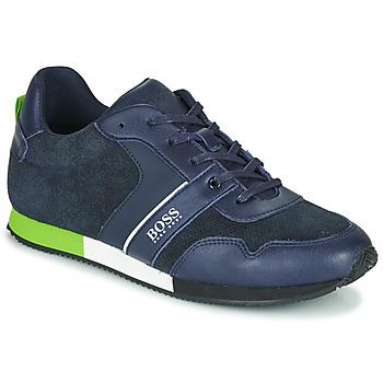 Schoenen Jongens Lage sneakers BOSS J29225 Blauw
