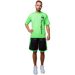 Textiel Heren Korte broeken / Bermuda's Champion Men's Mesh Bermuda Shorts (214390-kk001) Zwart
