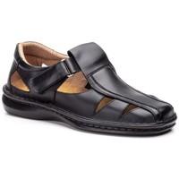Schoenen Heren Sandalen / Open schoenen Cactus Calzados Sandalias de hombre de piel by Cactus Noir