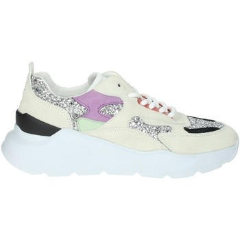 Schoenen Dames Lage sneakers Date FUGA-4E Ice grey