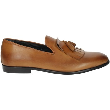 Schoenen Heren Mocassins Antony Sander 2350 Brown leather