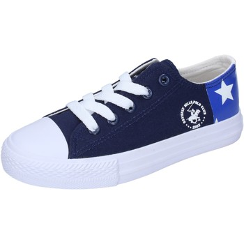 Schoenen Jongens Lage sneakers Beverly Hills Polo Club BM931 Bleu