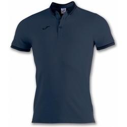 Textiel Heren Polo's korte mouwen Joma Polo  Bali Ii Navy Blue M/c (100748-331) Blauw
