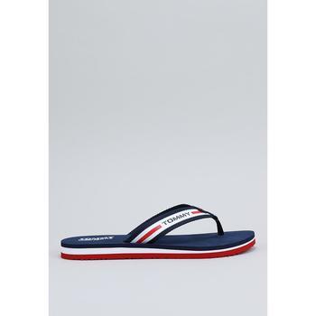 Schoenen Dames Slippers Tommy Hilfiger EN0EN00859 Blauw