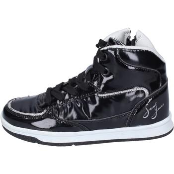 Schoenen Meisjes Hoge sneakers Sweet Years sneakers pelle sintetica vernice nero