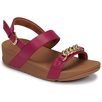 Schoenen Dames Sandalen / Open schoenen FitFlop LOTTIE CHAIN BACK-STRAP SANDALS  fuchsia
