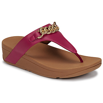 Schoenen Dames Sandalen / Open schoenen FitFlop LOTTIE CHAIN TOE-THONGS  fuchsia