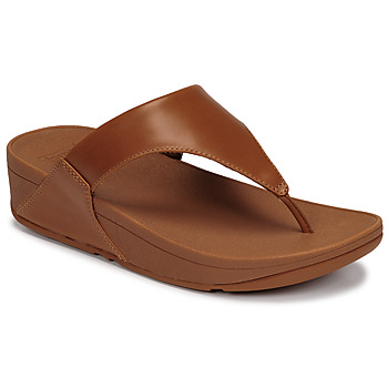 Schoenen Dames Sandalen / Open schoenen FitFlop LULU LEATHER TOEPOST Caramel