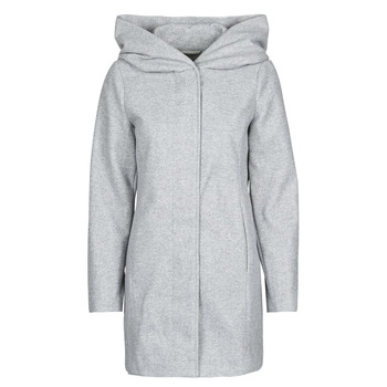 Textiel Dames Mantel jassen Vero Moda VMDAFNEDORA Grijs