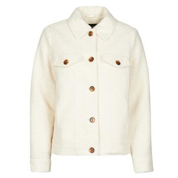 Textiel Dames Jasjes / Blazers Vero Moda VMCOZY Ecru
