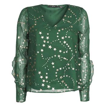 Textiel Dames Tops / Blousjes Vero Moda VMFEANA Groen