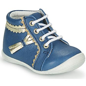 Schoenen Meisjes Hoge sneakers GBB ACINTA Blauw