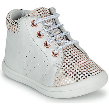 Schoenen Meisjes Hoge sneakers GBB NAHIA Wit