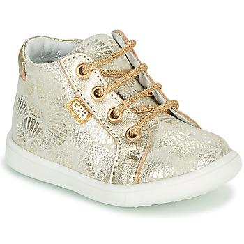 Schoenen Meisjes Hoge sneakers GBB FAMIA Beige