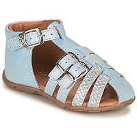 Schoenen Meisjes Sandalen / Open schoenen GBB RIVIERA Blauw
