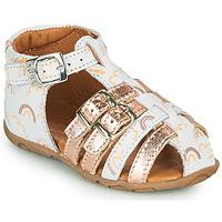 Schoenen Meisjes Sandalen / Open schoenen GBB RIVIERA Wit