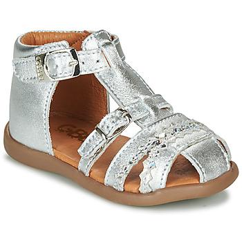 Schoenen Meisjes Sandalen / Open schoenen GBB ALIDA Zilver