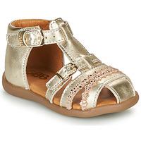 Schoenen Meisjes Sandalen / Open schoenen GBB ALIDA Goud