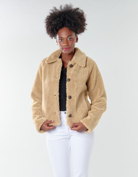 Textiel Dames Wind jackets Only ONLEMILY Creme