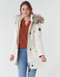 Textiel Dames Parka jassen Only ONLIRIS Wit