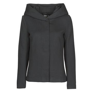 Textiel Dames Mantel jassen Only ONLNEWSEDONA Zwart