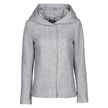Textiel Dames Mantel jassen Only ONLNEWSEDONA Grijs