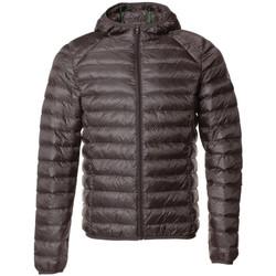 Textiel Heren Dons gevoerde jassen JOTT Nico manche longue  capuche Grijs