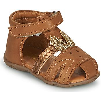 Schoenen Meisjes Sandalen / Open schoenen GBB FADIA Brown