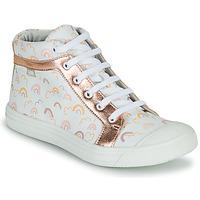 Schoenen Meisjes Hoge sneakers GBB LEOZIA Roze