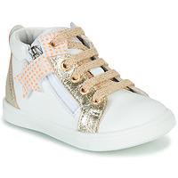 Schoenen Meisjes Hoge sneakers GBB VALA Wit