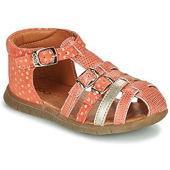 Schoenen Meisjes Sandalen / Open schoenen GBB PERLE Rood