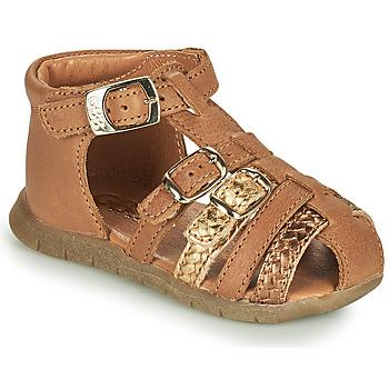 Schoenen Meisjes Sandalen / Open schoenen GBB PERLE Brown