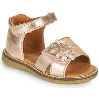 Schoenen Meisjes Sandalen / Open schoenen GBB SATIA Roze / Gold