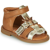 Schoenen Meisjes Sandalen / Open schoenen GBB CARETTE Brown