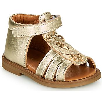 Schoenen Meisjes Sandalen / Open schoenen GBB FRANIA Goud