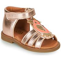 Schoenen Meisjes Sandalen / Open schoenen GBB FRANIA Roze / Gold