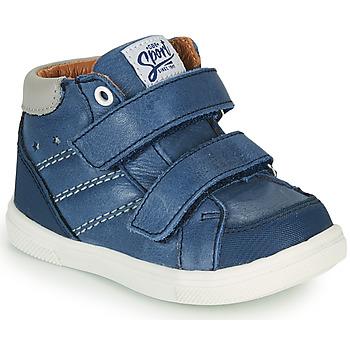 Schoenen Jongens Hoge sneakers GBB MORISO Blauw