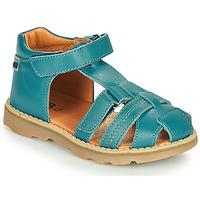 Schoenen Jongens Sandalen / Open schoenen GBB MITRI Blauw