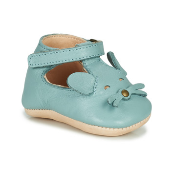 Schoenen Kinderen Sloffen Easy Peasy LOULOU MOUSE Blauw