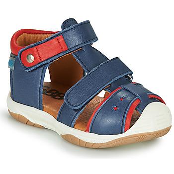 Schoenen Jongens Sandalen / Open schoenen GBB EUZAK Blauw