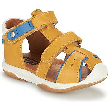 Schoenen Jongens Sandalen / Open schoenen GBB EUZAK Geel