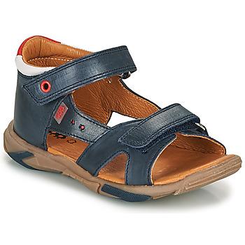 Schoenen Jongens Sandalen / Open schoenen GBB OBELO Blauw